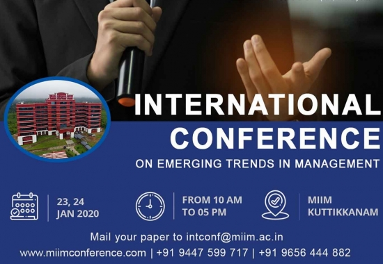 International Conference on Emerging Trends in Management