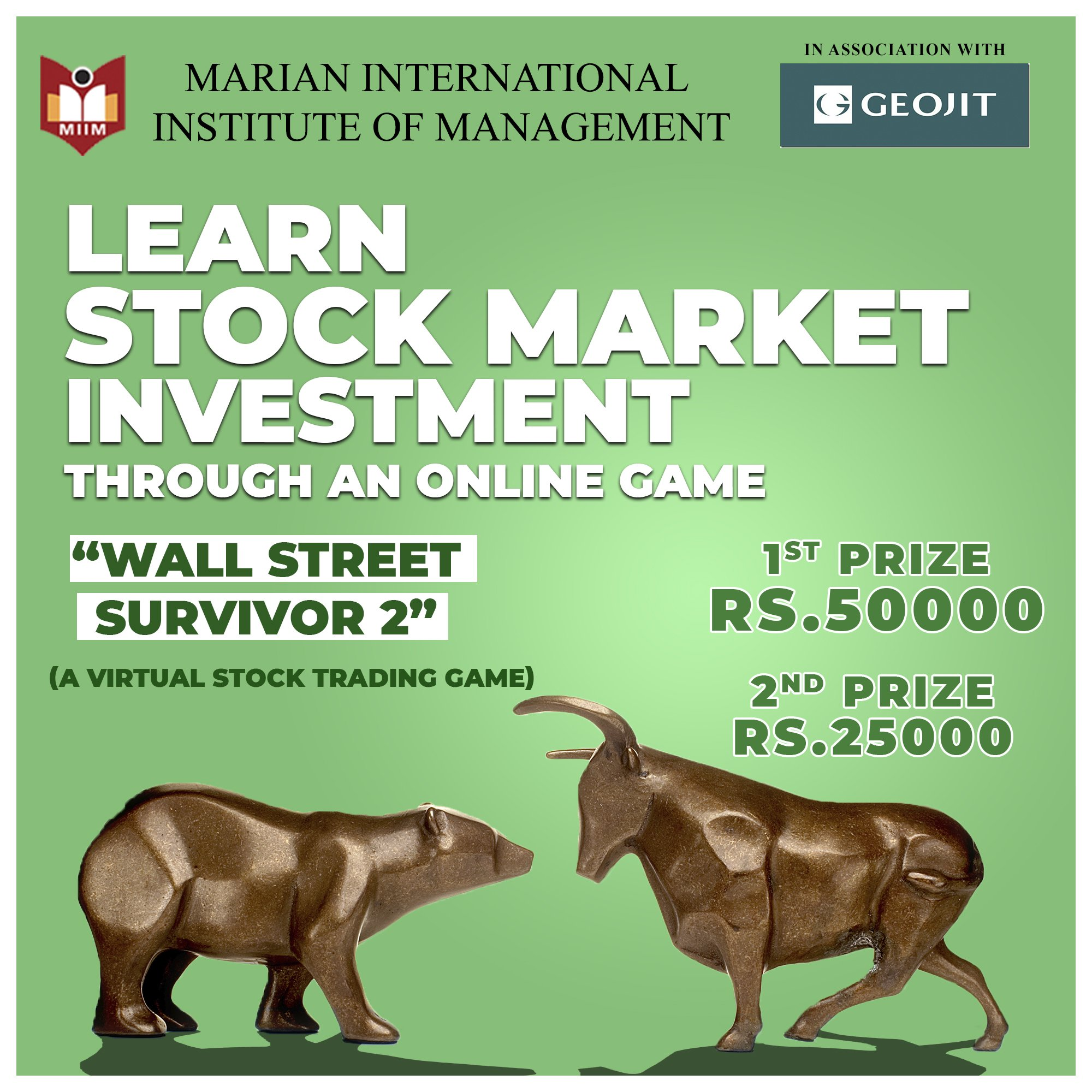 Learn Stock market investment through an online Game.