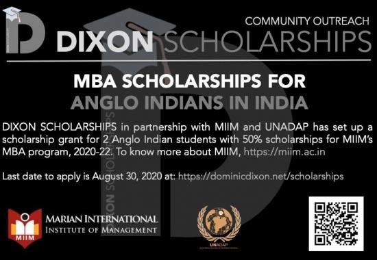 Dixon Scholarship