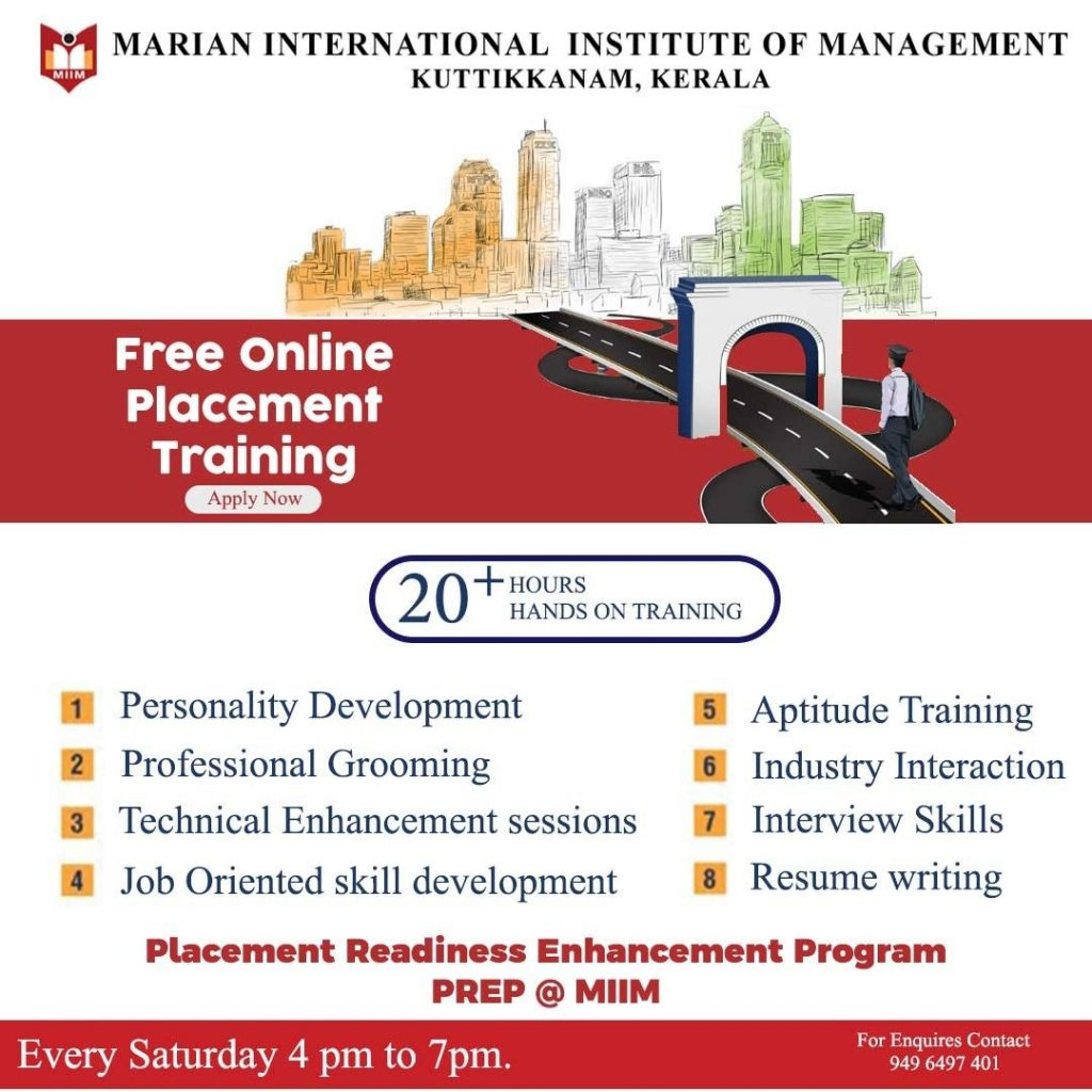 Free Online Placement Training Program