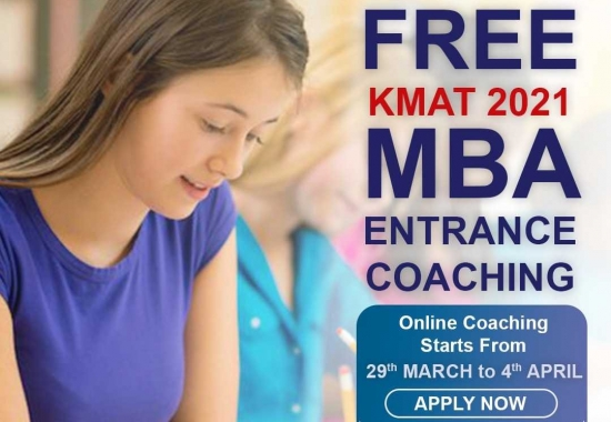 FREE Online KMAT Entrance Examination Training – Register Now