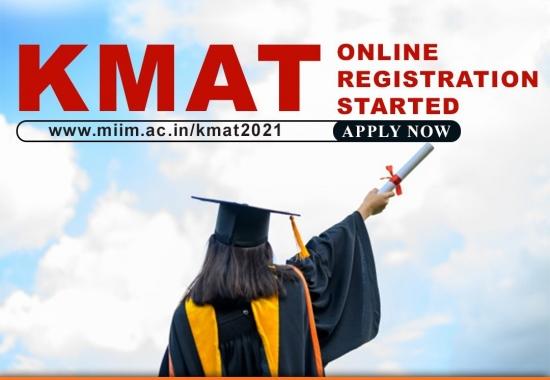 KMAT MBA Entrance Examination Online Registration Started