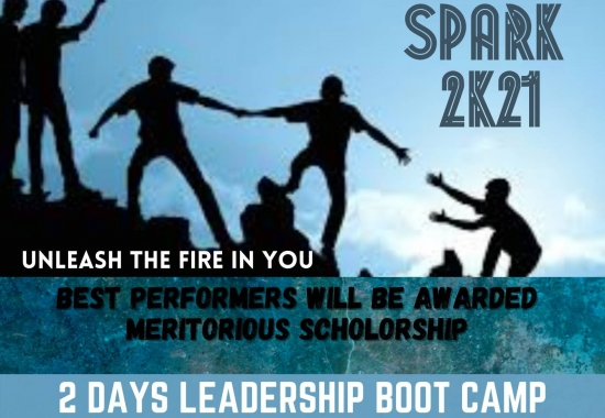 SPARK 2K21 – Two days Online Leadership Boot Camp