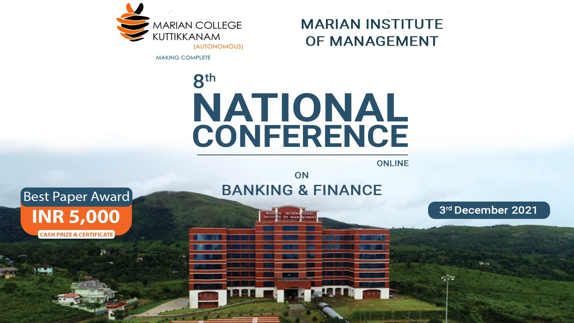 National National Conference on Banking and FInance